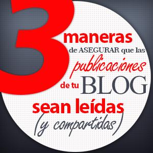 Publicacion de tu blog